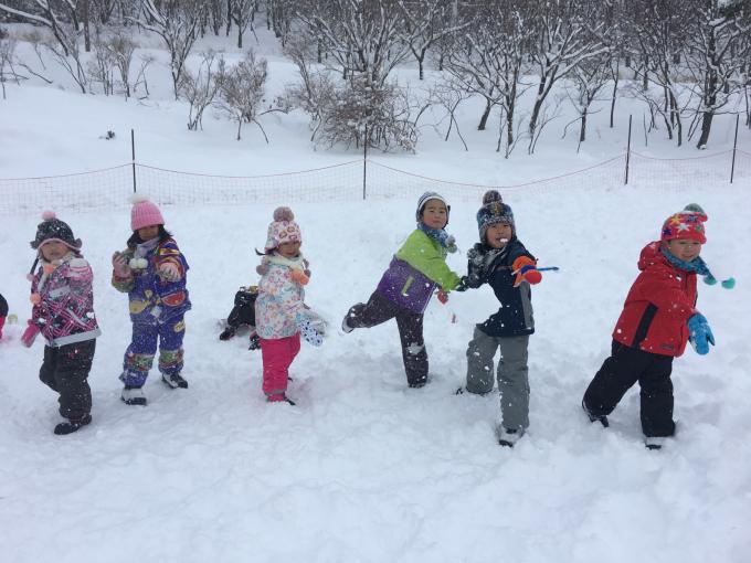 雪遊びに行きました♫_b0117125_15061681.jpg