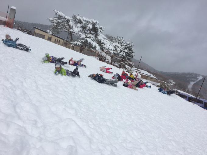 雪遊びに行きました♫_b0117125_15072514.jpg