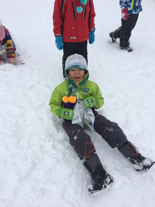 雪遊びに行きました♫_b0117125_15075057.jpg