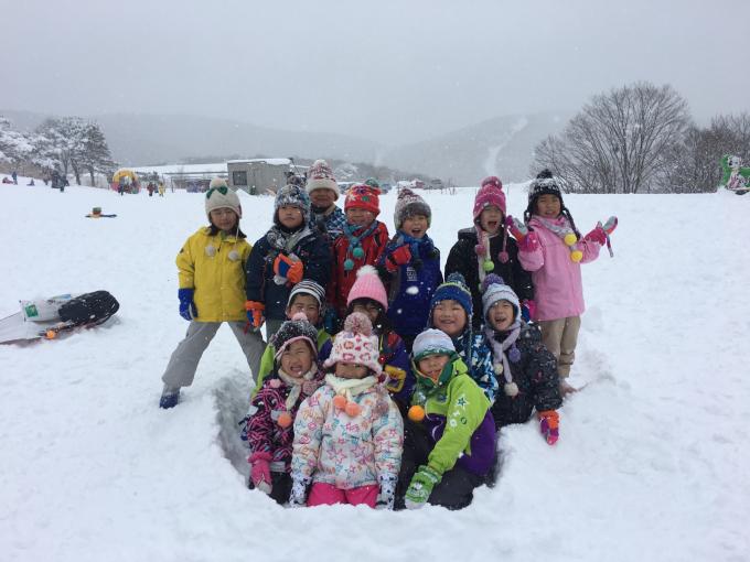 雪遊びに行きました♫_b0117125_15100521.jpg
