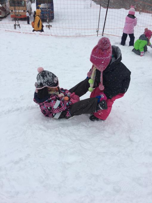 雪遊びに行きました♫_b0117125_15102816.jpg