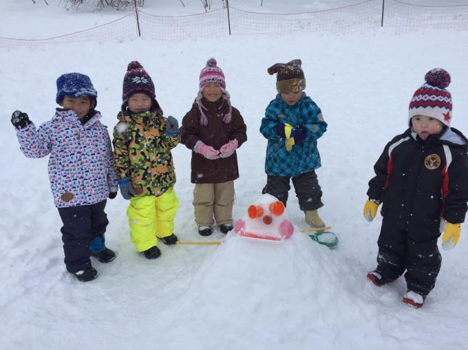 雪遊びに行きました♫_b0117125_15554782.jpg