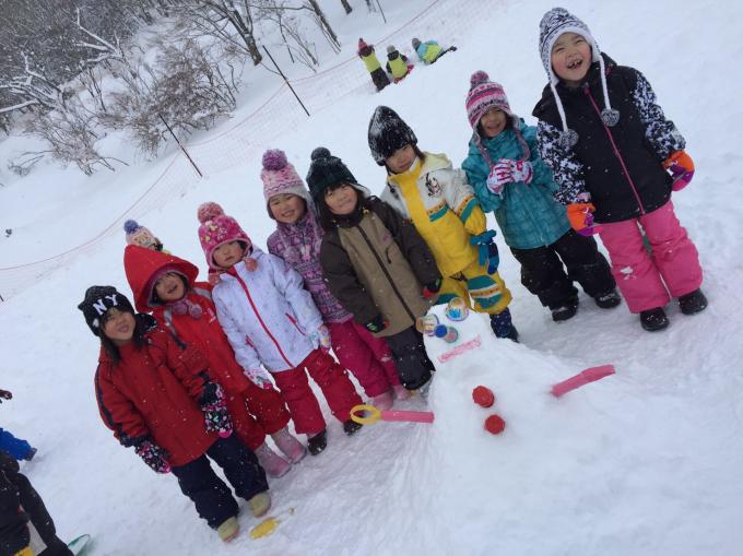 雪遊びに行きました♫_b0117125_15561681.jpg