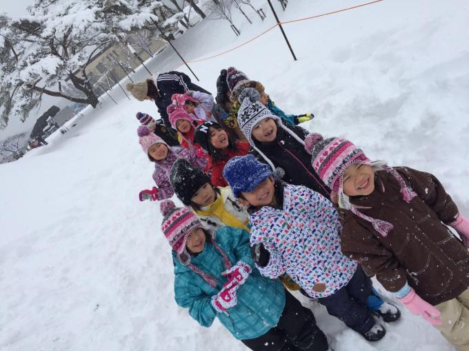 雪遊びに行きました♫_b0117125_15584370.jpg