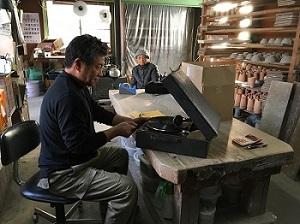 羽石修二さんの工房へ_b0100229_13501070.jpg