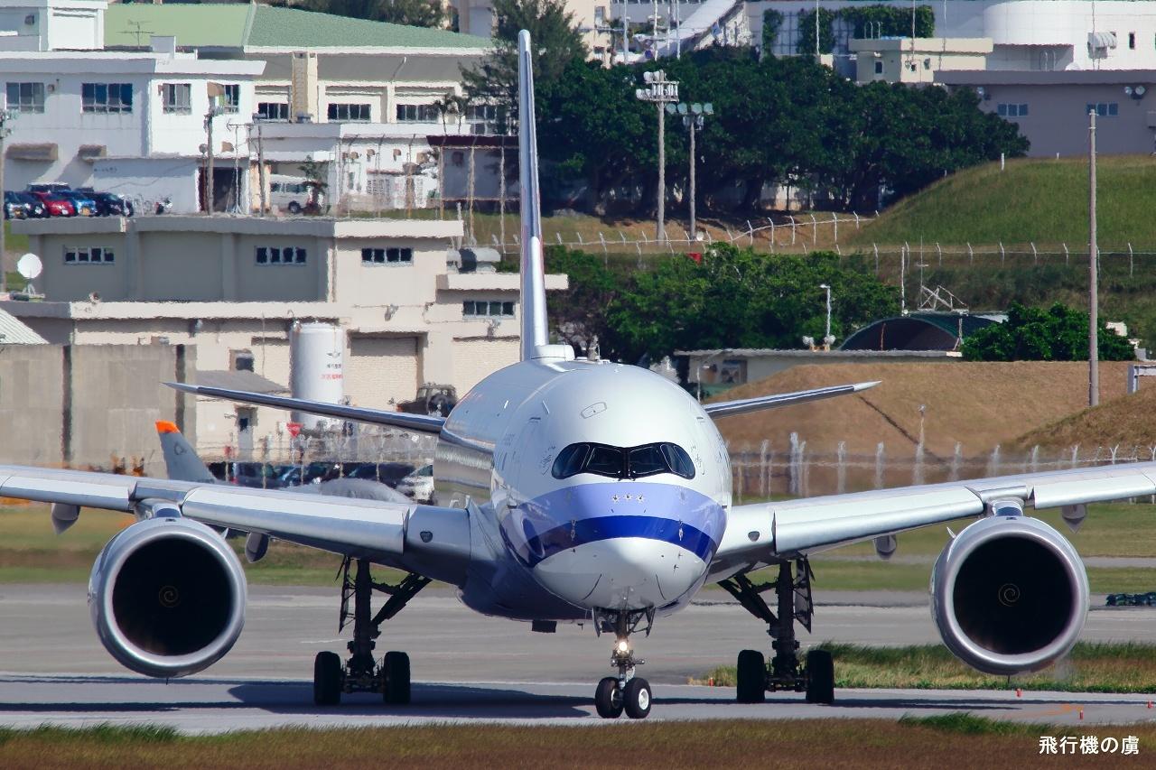 正面狙いで  A350  チャイナエアライン(CI)_b0313338_23572585.jpg