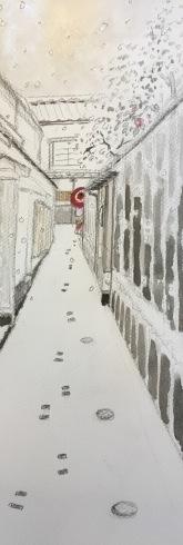 雪の神楽坂。_c0160745_14590699.jpg