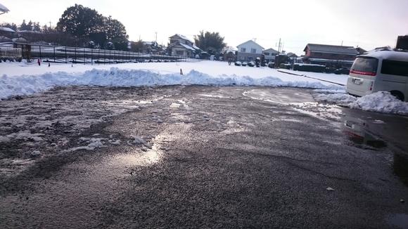 雪の影響_e0040673_10564437.jpg