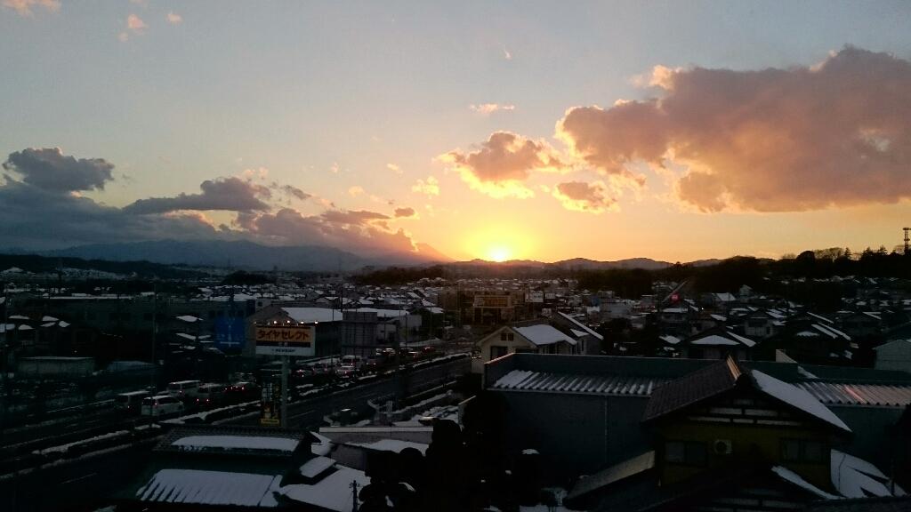 1/26  今日の富士山_b0042308_17174986.jpg
