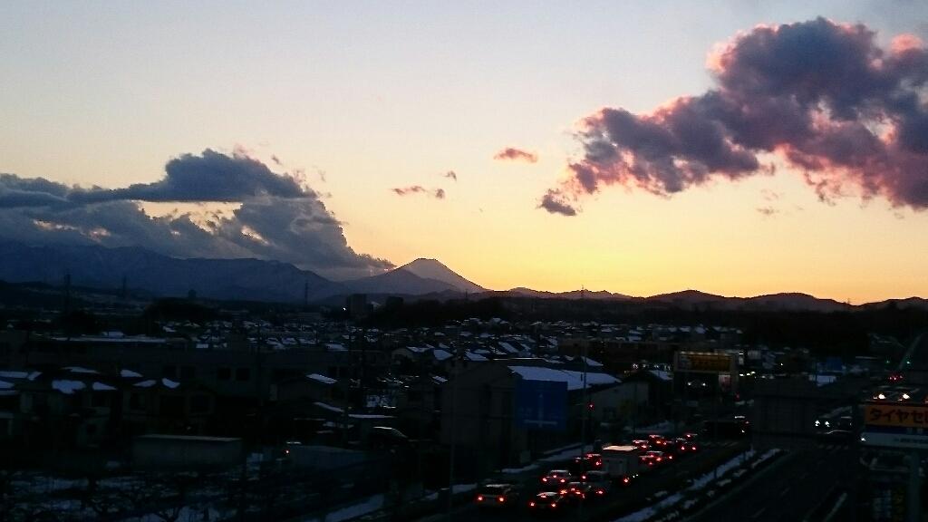 1/26  今日の富士山_b0042308_17175145.jpg