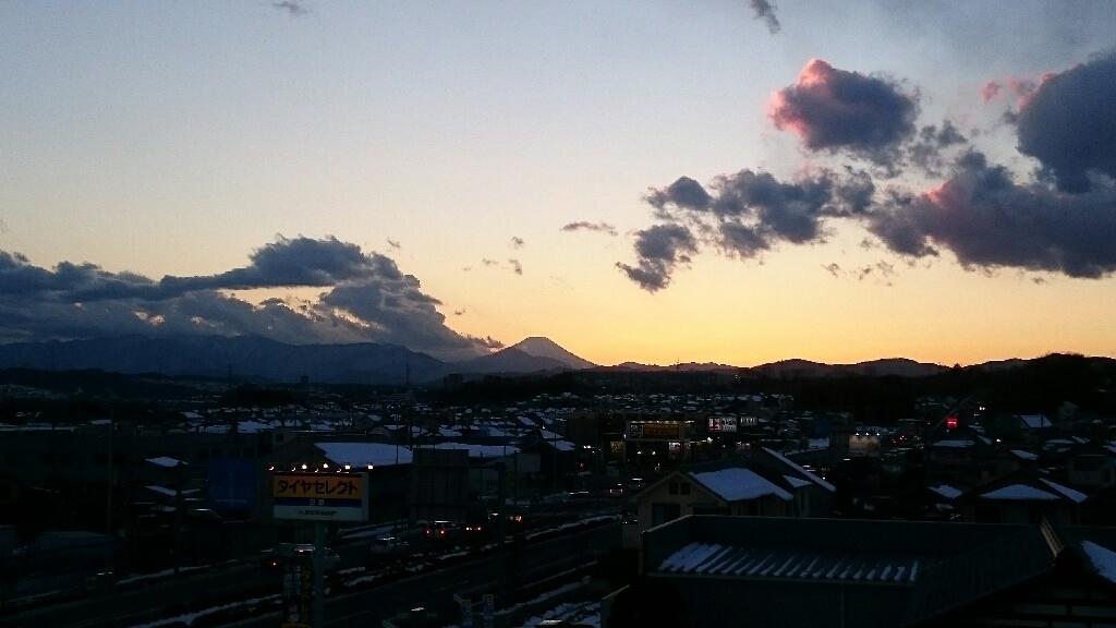 1/26  今日の富士山_b0042308_17175271.jpg