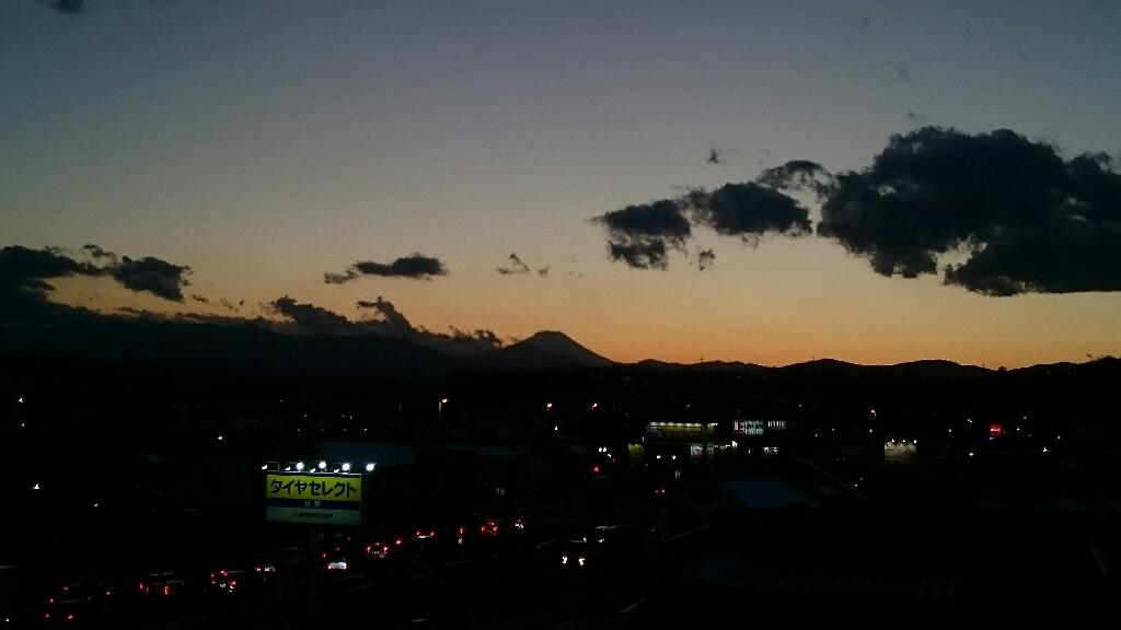 1/26  今日の富士山_b0042308_17242845.jpg