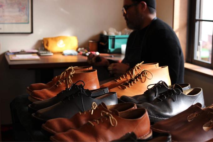 """宮古島から山口の山郷深くに移住してハンドメイドの靴を創る\"""" IKEMA \"""" 靴の受注会を2/16〜2/18 江の島オッパーラで開かれます👞👞_d0106911_16564615.jpg"""