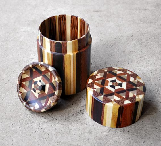 金指勝悦さんの寄木細工が色々と入荷致しました。_d0193211_1853146.jpg