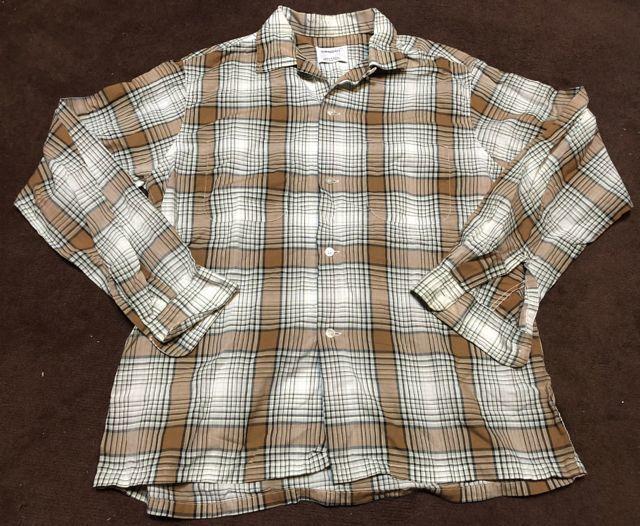 1月27日(土)入荷!60s Penny\'s Towncraft オープンカラー シャツ!_c0144020_13290050.jpg