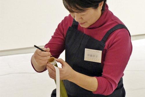 たのしい実技講座[竹を編む]を開催しました①_c0222139_15434558.jpg