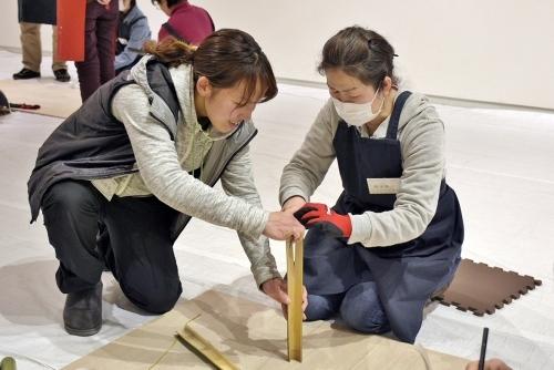 たのしい実技講座[竹を編む]を開催しました①_c0222139_15435050.jpg