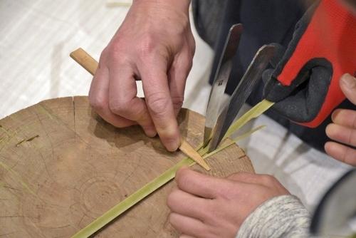たのしい実技講座[竹を編む]を開催しました①_c0222139_15550102.jpg