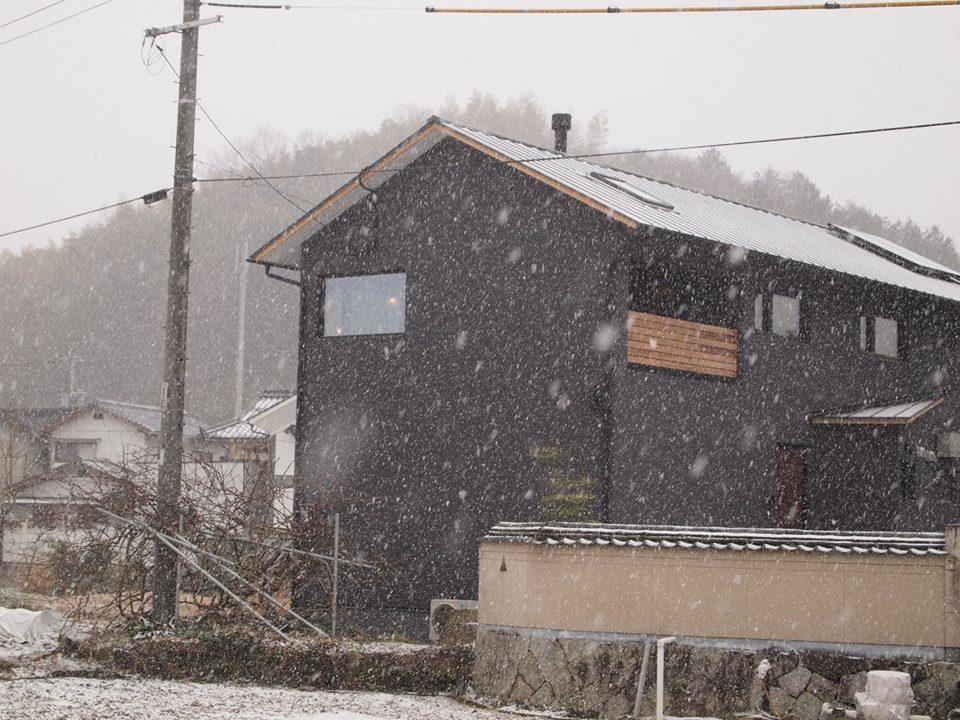 雪の中のOPEN HOUSE、開催中!_b0211845_16194813.jpg
