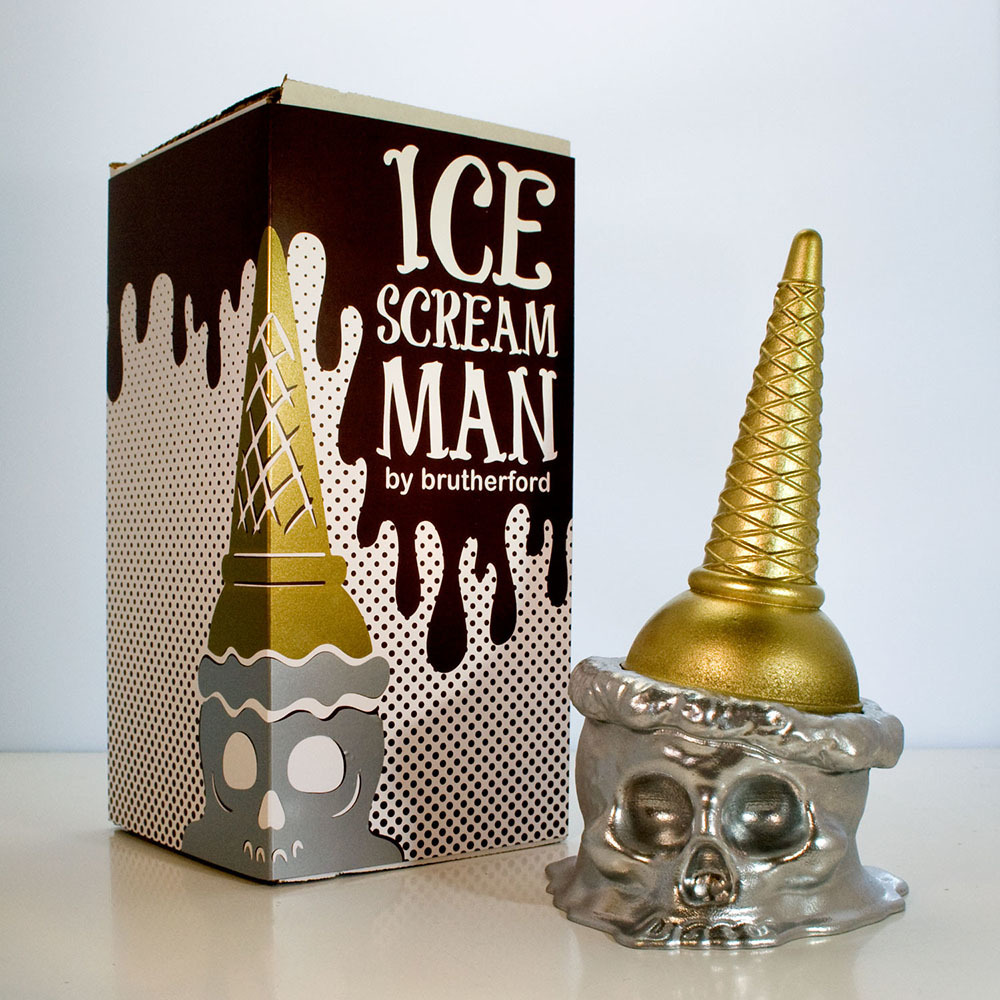 Ice Scream Man metallic colorway by Ryan Rutherford_e0118156_21090232.jpg