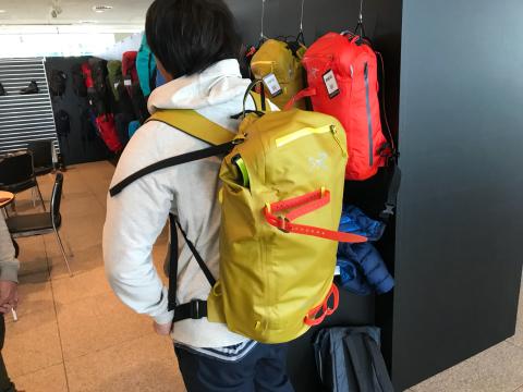 ARC'TERYX 秋冬展示会_d0110562_17104750.jpg