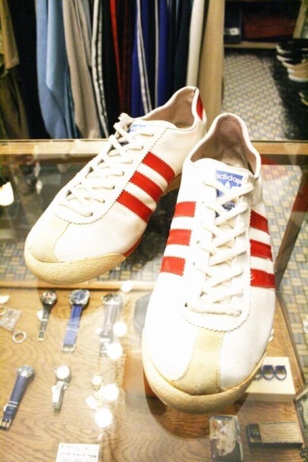 寒ぃーよ!!家から出るのつらいよ!!男はつらいよ!! 入荷adidas 70~80s vintage スニーカー_f0180307_01171483.jpg