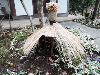 北鎌倉の家のわらボッチ_c0195909_11350250.jpg