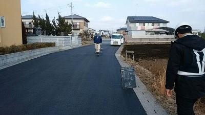 1/20 舗装工事(真岡市)_c0313938_16443879.jpg