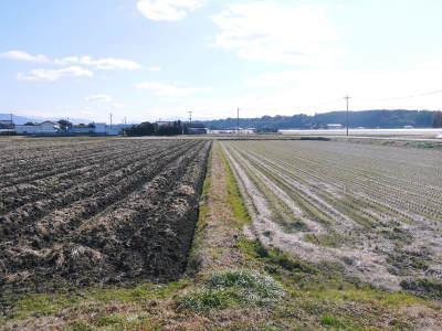 七城米大好評発売中!長尾農園さんは平成30年度の米作りをスタートしました!天地返しの様子(2018後編)_a0254656_16421943.jpg