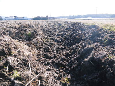 七城米大好評発売中!長尾農園さんは平成30年度の米作りをスタートしました!天地返しの様子(2018後編)_a0254656_17171319.jpg