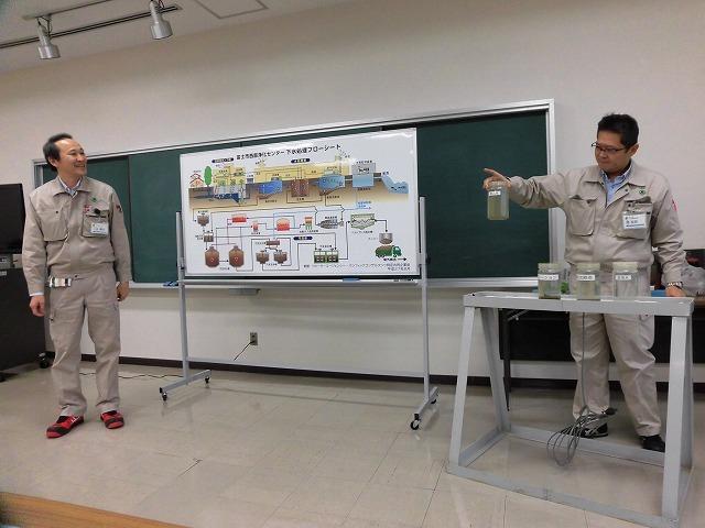 下水汚泥のさらなるエネルギー化率向上に向け検討を進める富士市西部浄化センター_f0141310_23050930.jpg
