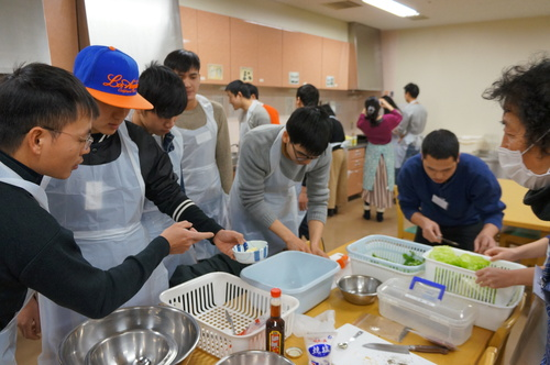 日曜朝教室 お料理_e0175020_1836418.jpg