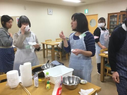 日曜朝教室 お料理_e0175020_1845507.jpg