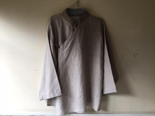 麻メオ族農民服&藍染め手織りスカート_b0207631_11145192.jpg