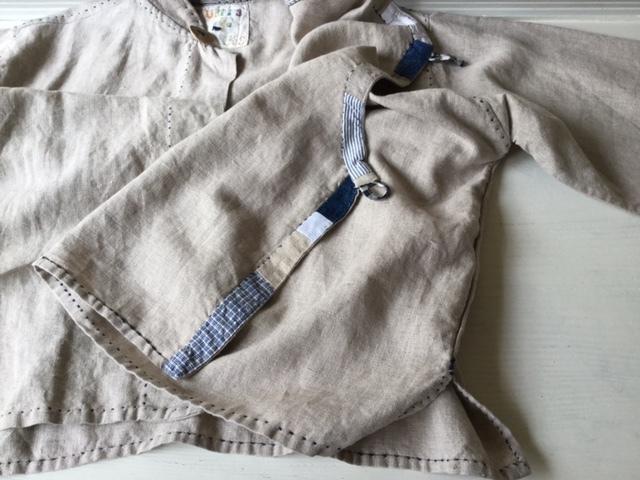 麻メオ族農民服&藍染め手織りスカート_b0207631_11160452.jpg