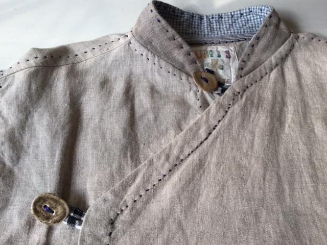 麻メオ族農民服&藍染め手織りスカート_b0207631_11163358.jpg