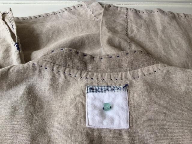 麻メオ族農民服&藍染め手織りスカート_b0207631_11170154.jpg
