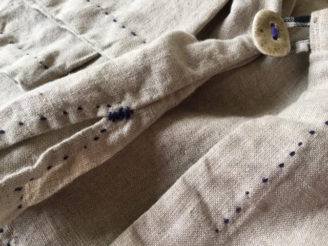 麻メオ族農民服&藍染め手織りスカート_b0207631_11173108.jpg