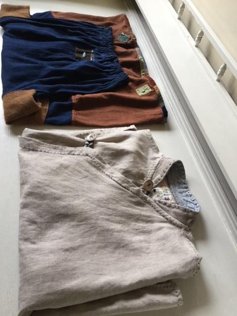 麻メオ族農民服&藍染め手織りスカート_b0207631_11193848.jpg