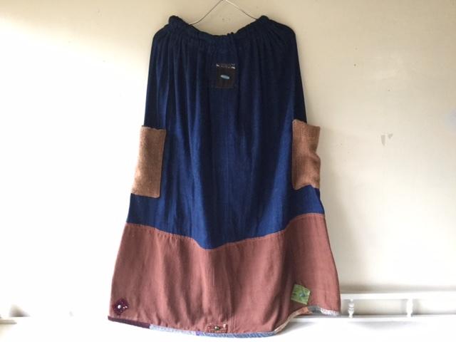 麻メオ族農民服&藍染め手織りスカート_b0207631_11223128.jpg