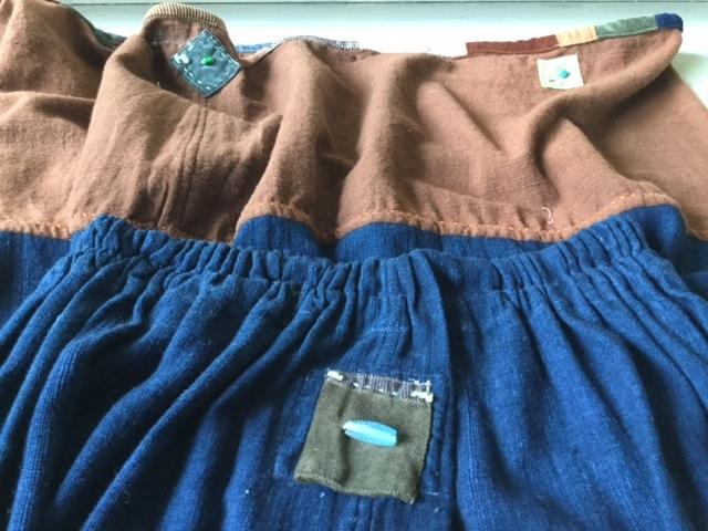 麻メオ族農民服&藍染め手織りスカート_b0207631_11225840.jpg