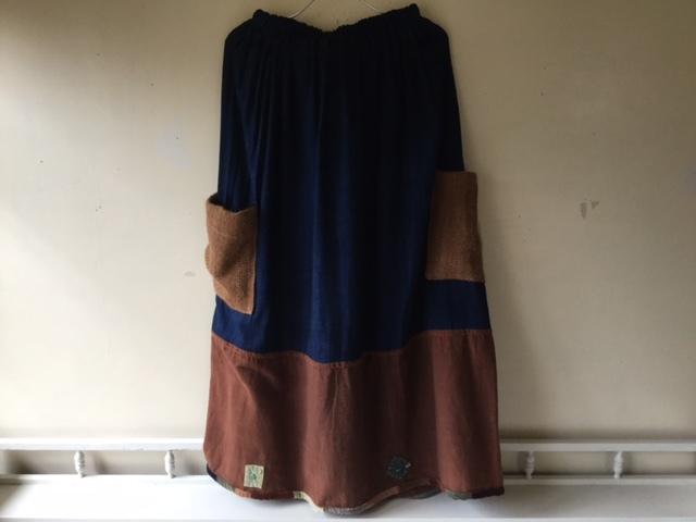 麻メオ族農民服&藍染め手織りスカート_b0207631_11235118.jpg