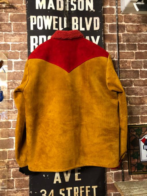 saddle man jacket one off limited _a0208155_07572718.jpg