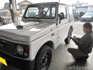 H8年式 JA12C ジムニー幌車入荷&H7年式 JB32W ジムニーシエラ展示車両完成♪_c0213517_10572723.jpg