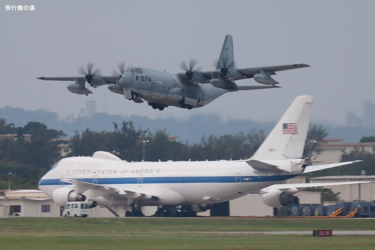 露出させたくない機体と  C-130  アメリカ空軍_b0313338_20432557.jpg