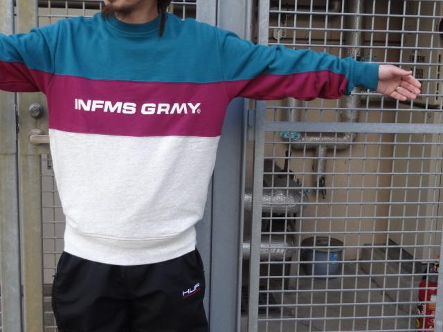 GRIMEY COUNTERBLOW INFAMOUS CREWNECK!!!_a0221253_16322250.jpg