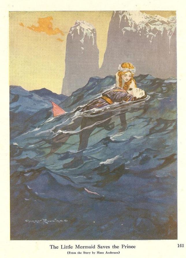 Harry Rountree画の「人魚姫」_c0084183_1547338.jpg