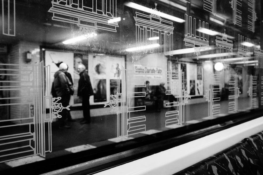 ワルシャワ通り駅からメトロに乗って。_c0180686_23351697.jpg