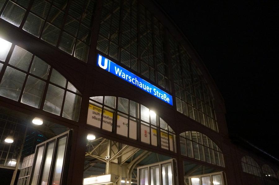 ワルシャワ通り駅からメトロに乗って。_c0180686_23370837.jpg