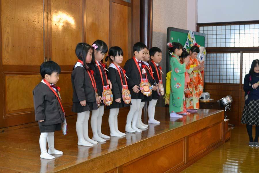 第一幼稚園 12月・1月生まれ お誕生会_d0353789_15000258.jpg